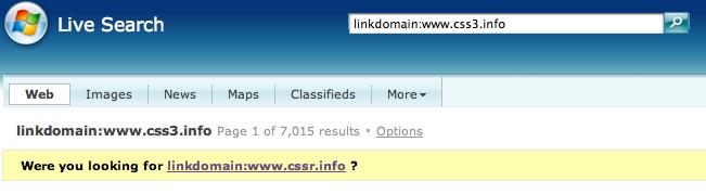 linkdomain css3.info