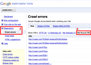 google-crawl-errors