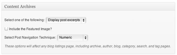 Genesis Theme Review - SEO settings pagination