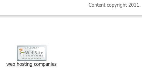 website tonight logo with embedded link beneath it