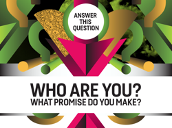 Answer this question: Who are you? What promise do you make?
