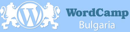 Logo Wordcamp Bulgaria