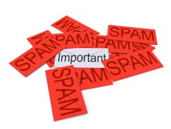 Imporant article hidden by spam