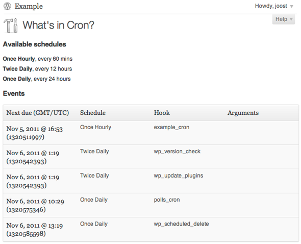 What is in WordPress Cron? Cron View shows you!