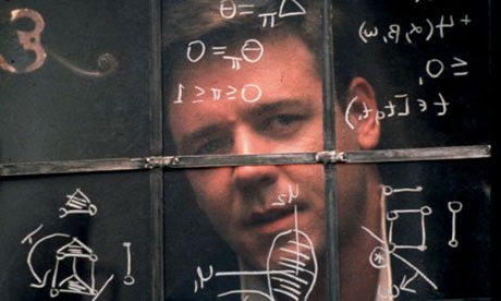 Russell Crowe in A Beautiful Mind - Our inspiration for a victory of the commons