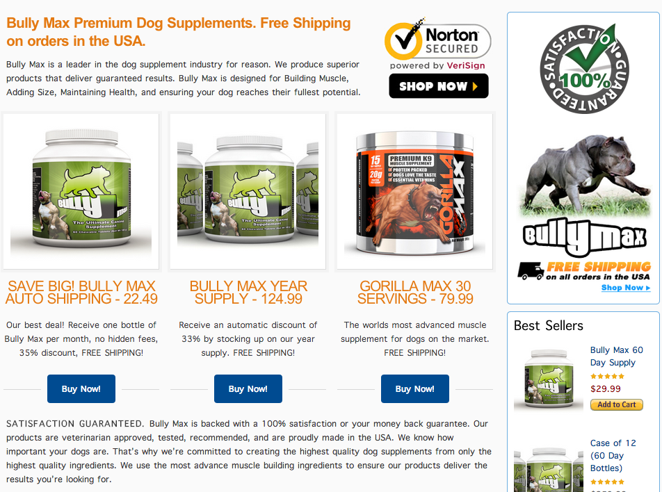 Bully Max | Muscle Building Supplements for Dogs 2014-03-14 15-55-43 2014-03-14 15-55-48