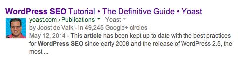 wordpress seo article Google Search 133