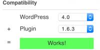 WordPress 4.0 compatible