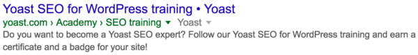 Get Yoast SEO for WordPress