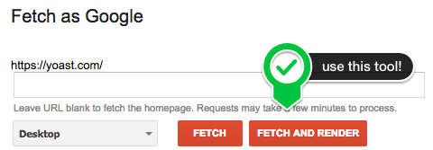 Fetch and Render in Google Webmaster Tools to test your WordPress robots.txt.