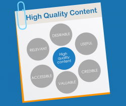 Focus on links in high quality content, to high quality content