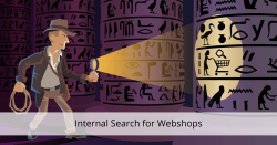 internal search for webshops