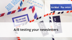 ab testing newslettes