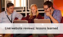 live website review
