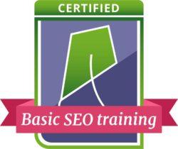 basic seo training badge