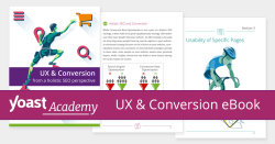 UX & Conversion