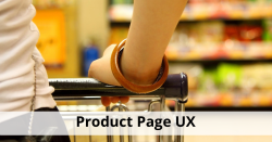 product page UX