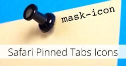 Safari pinned tabs - mask-icon