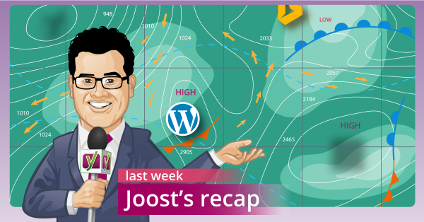 Joost's weekly SEO Recap