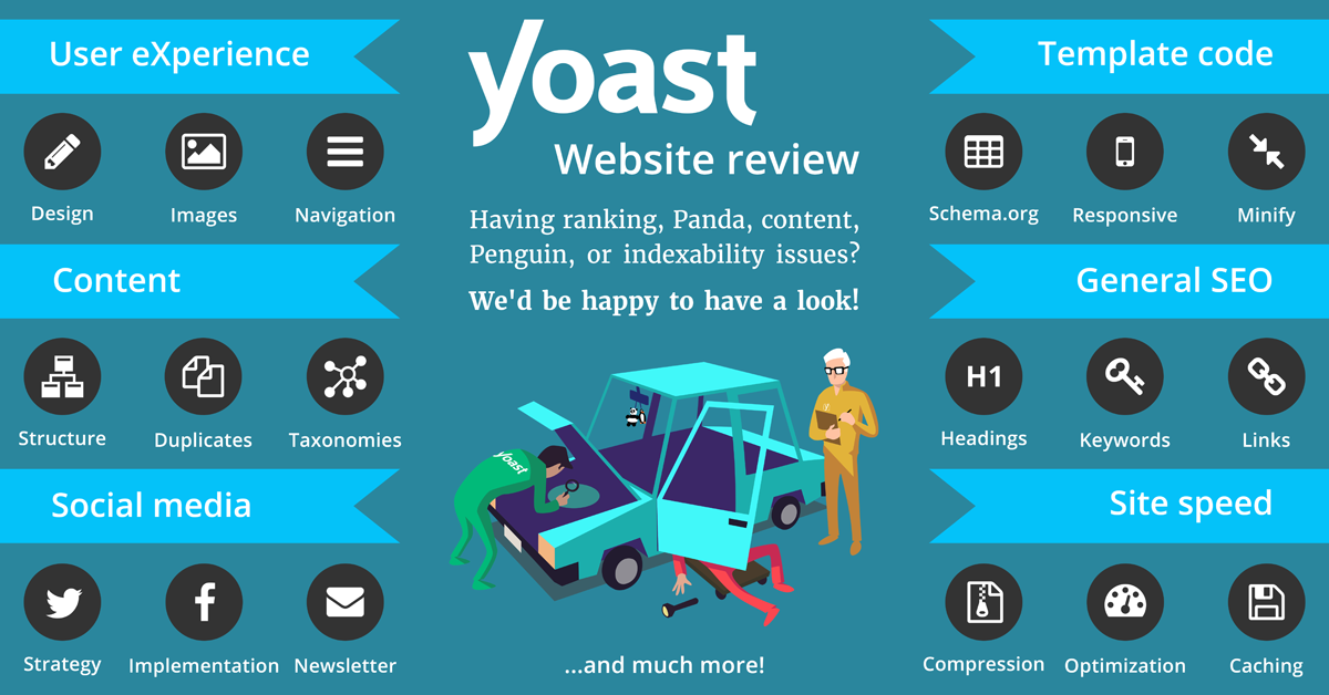 Yoast website reviews to help you optimize