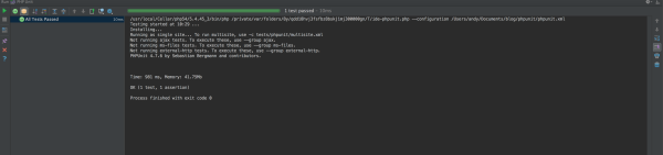 phpunit-run-test