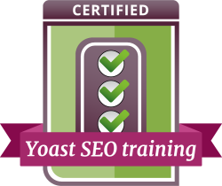badge yoast seo training