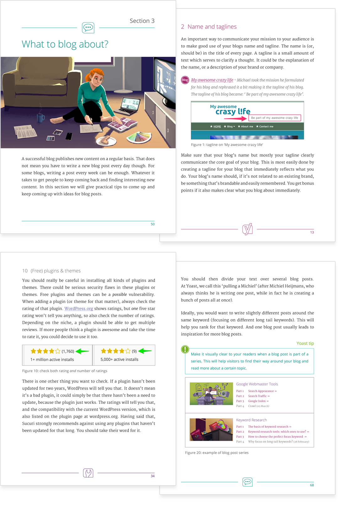 Blog SEO ebook preview