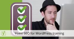 Yoast SEO for WordPress training