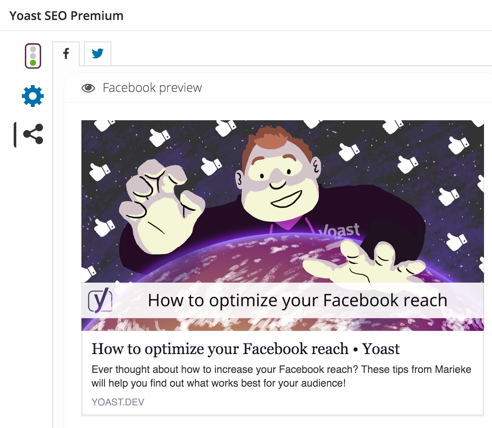 Social Previews in Yoast SEO Premium