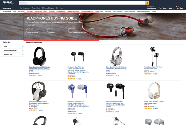 amazon buying guide headphones