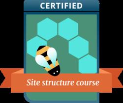 site structure training yoast badge