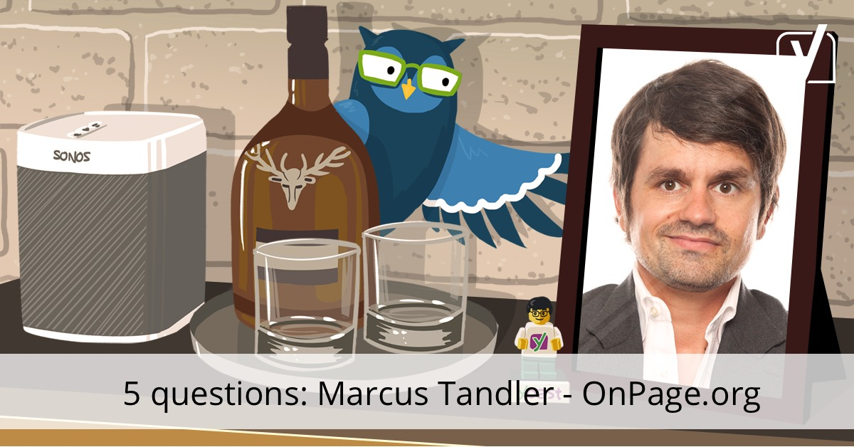 Interview with Marcus Tandler, OnPage.org – YoastCon speaker