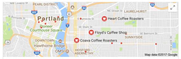 coffee shops portland